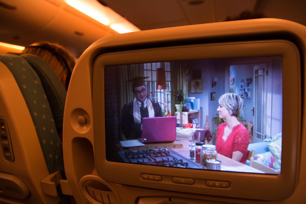 Unterhaltungsprogramm Singapore Airlines A380