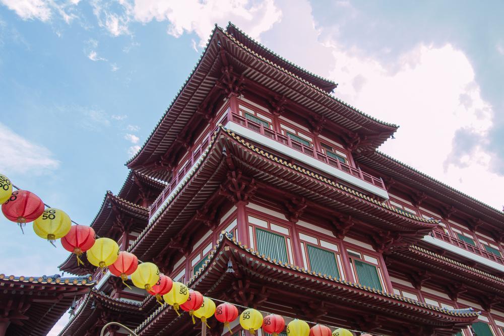 Chinesischer Tempel in Singapur