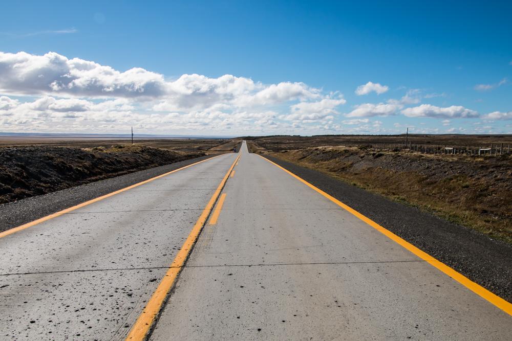 Straße nach Patagonien