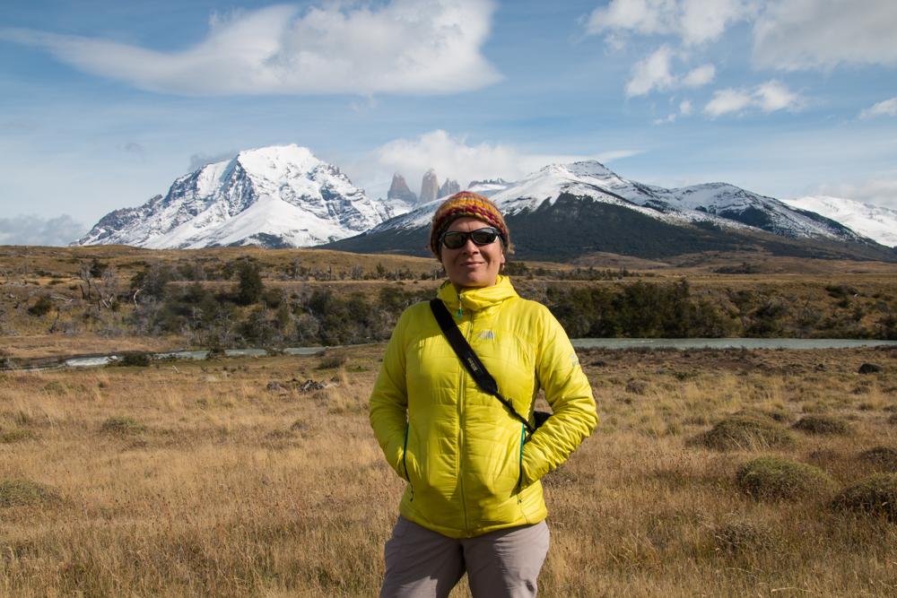 Reiseleiterin in Patagonien