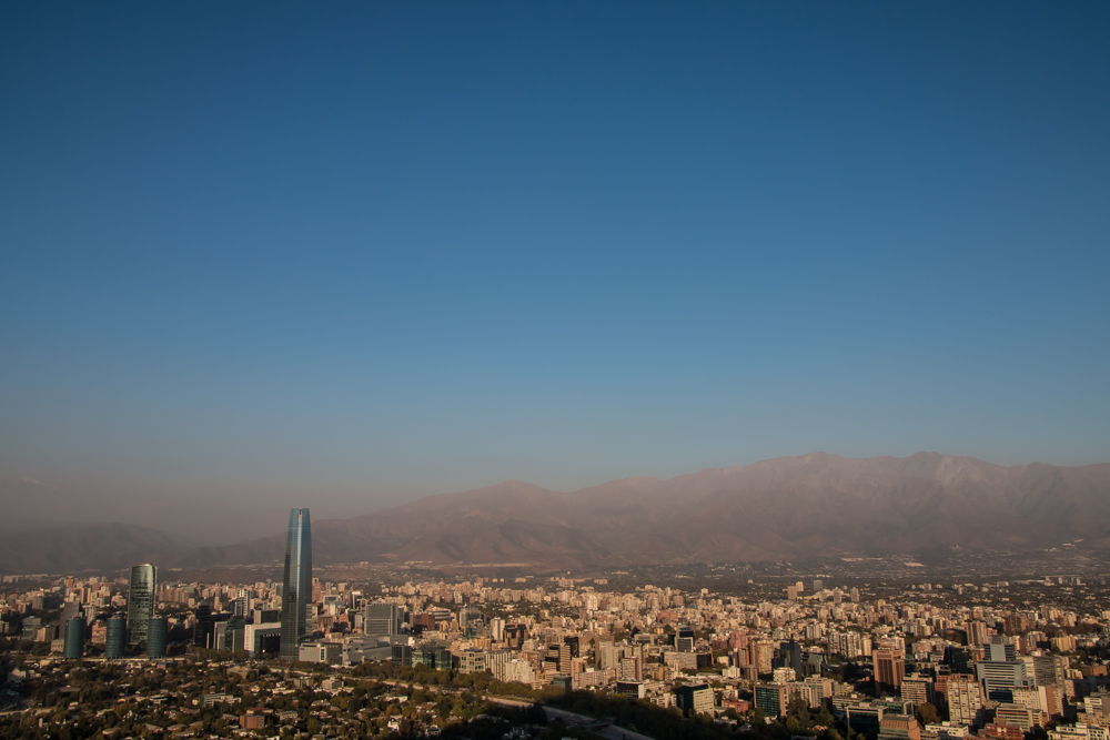 Santiago de Chile - Ausblick