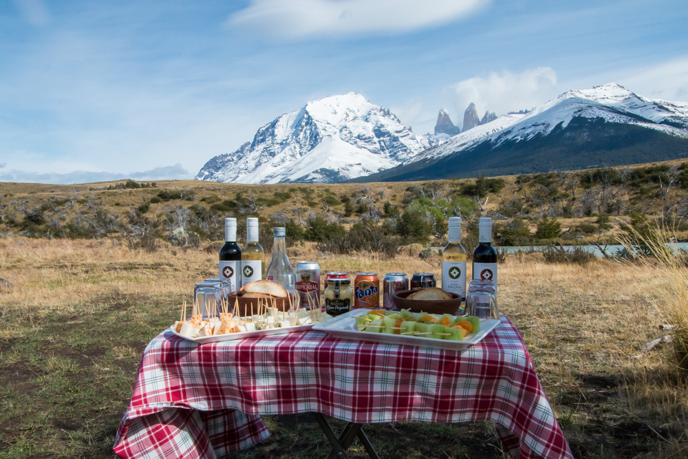 Picknick in Patagonien Chile