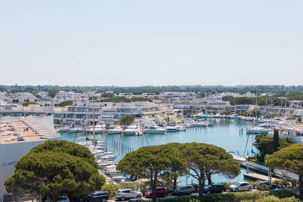 Ausblick Port Camargue