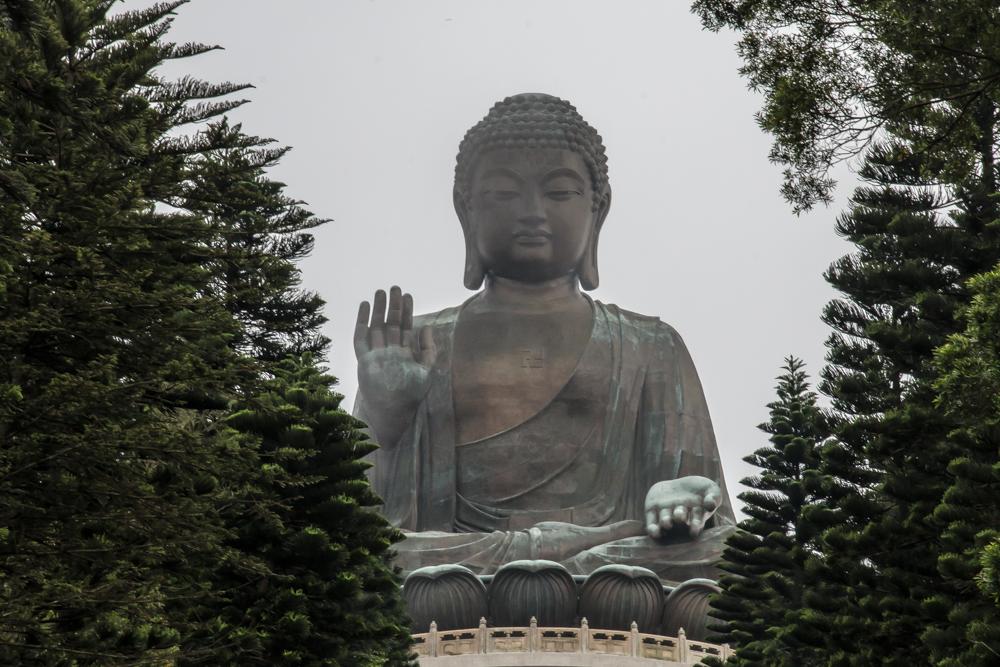 Big Buddha auf Lantau Island
