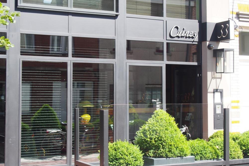 Cuines 33 Restaurant in Knokke