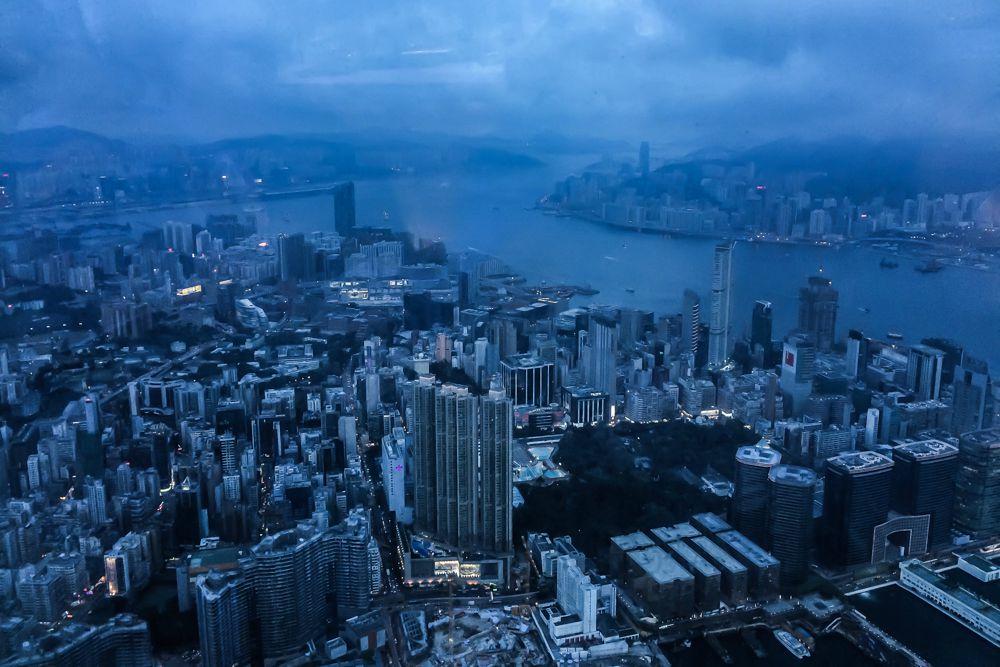 Höchste Bar der Welt Hongkong
