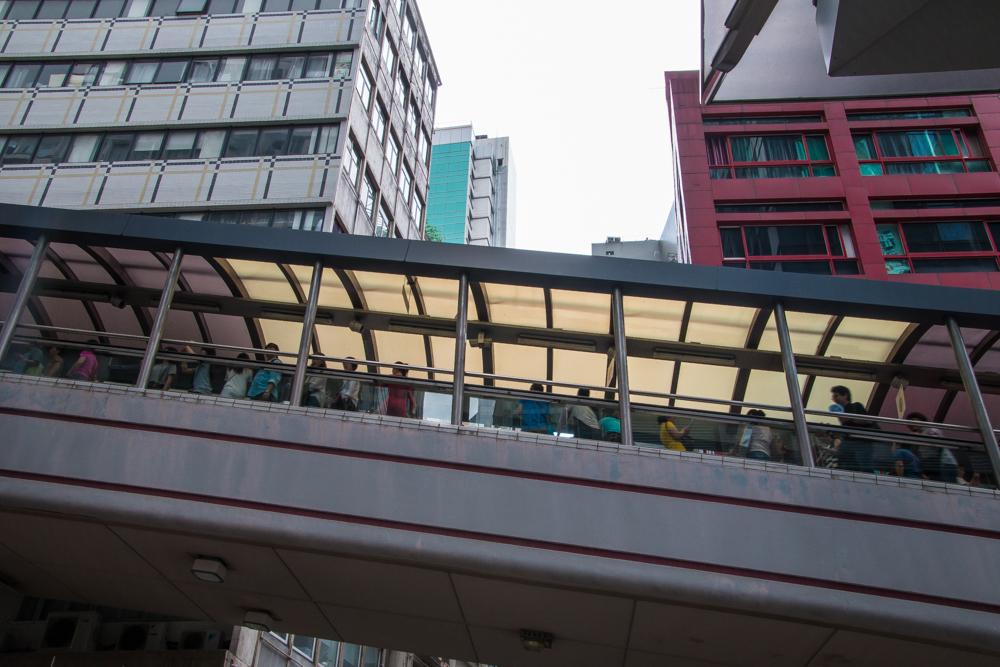Hongkong - Die längste Rolltreppe der Welt