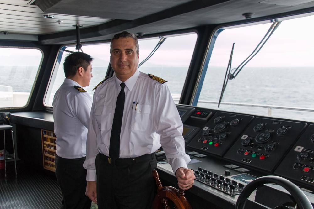 Jaime Iturra, Kapitän Stella Australis