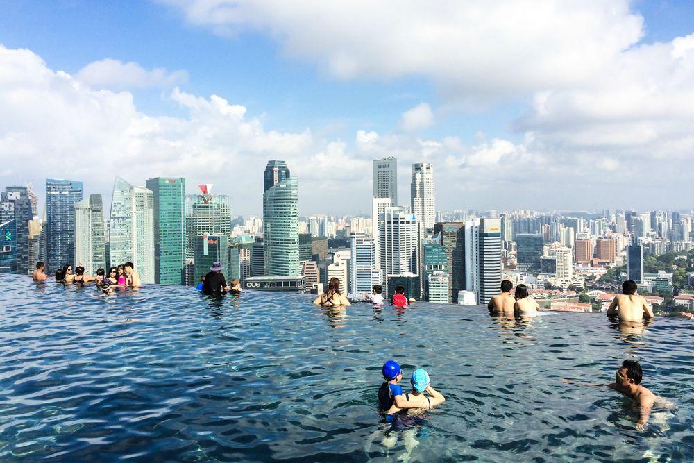 Höchster Infinity Pool der Welt - Singapore