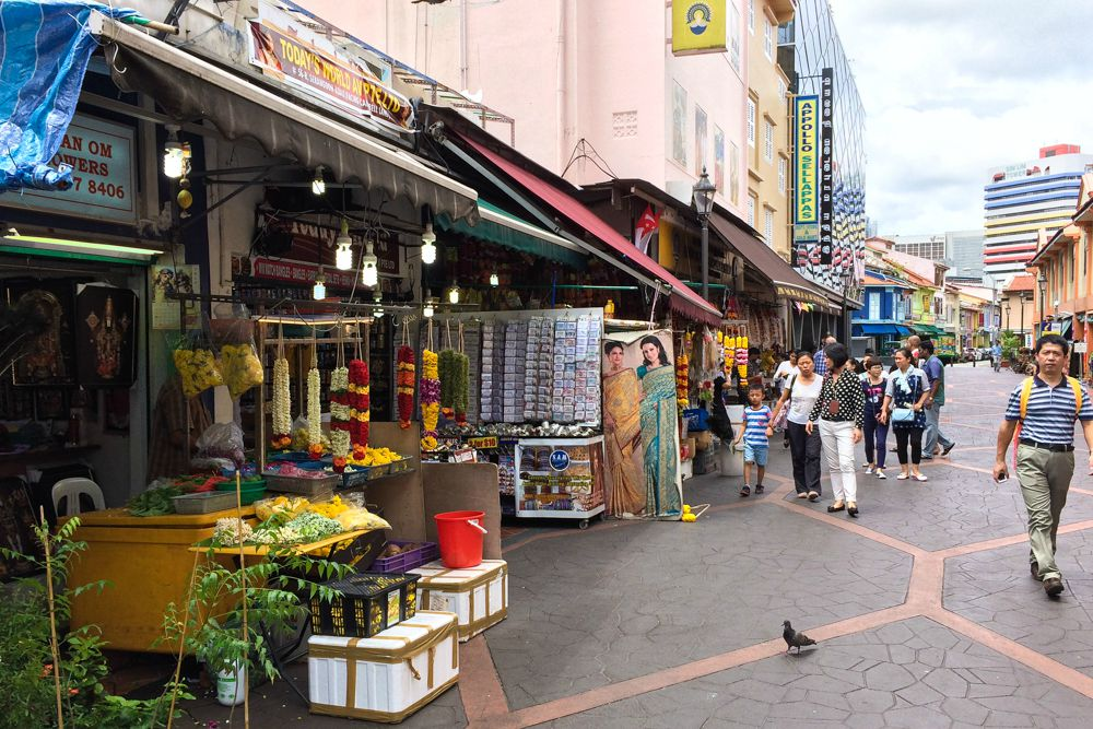Little India in Singapur
