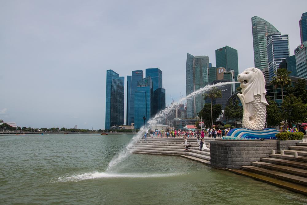 Merlion Singapur Highlights Sehenswürdigkeiten
