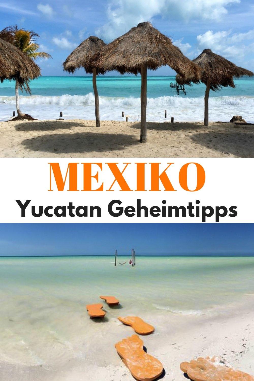 Die besten Geheimtipps für deinen Mexiko Urlaub in Yucatan: Eine Einheimische verrät dir ihre ultimativen Insidertipps zu Sehenswürdigkeiten, Stränden, Aktivitäten, Hotels und Restaurants. Yucatan Reise Tipps für deinen perfekten Urlaub oder Rundreise - mit Orten wie Cancun, Playa del Carmen, Tulum, Kolonialstädten, Mayastätten und der Isla Holbox.#Yucatan #Mexiko #Cancun #PlayadelCarmen #Tulum #Urlaub #Reisen #Reisetipps #Reiseblog #Reiseziele #Reiseinspiration