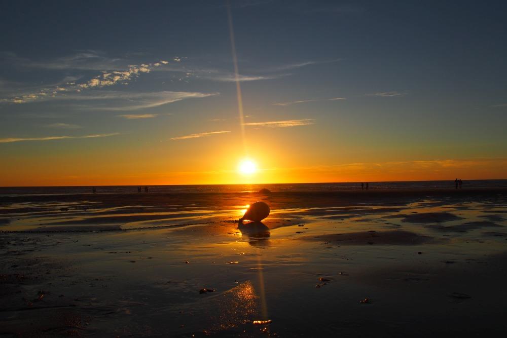 Sonnenuntergang Oostende