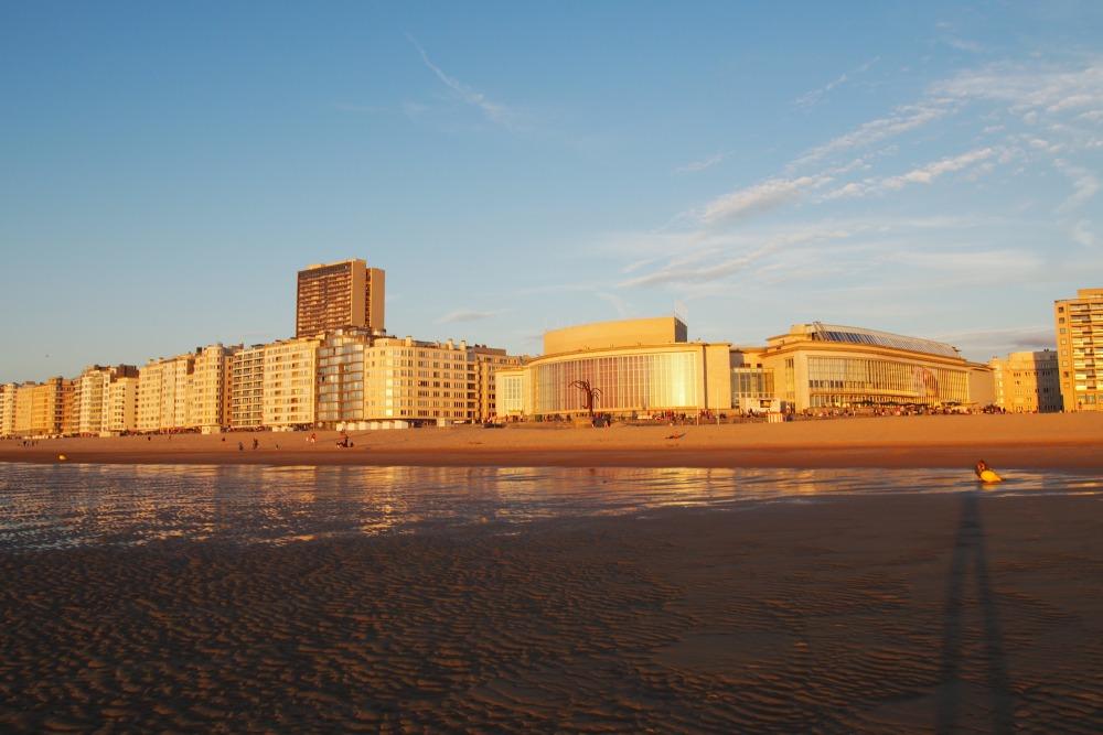 Sonnenuntergang in Oostende