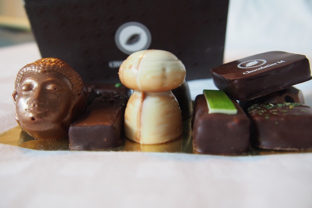 Chocolatier M in Flandern