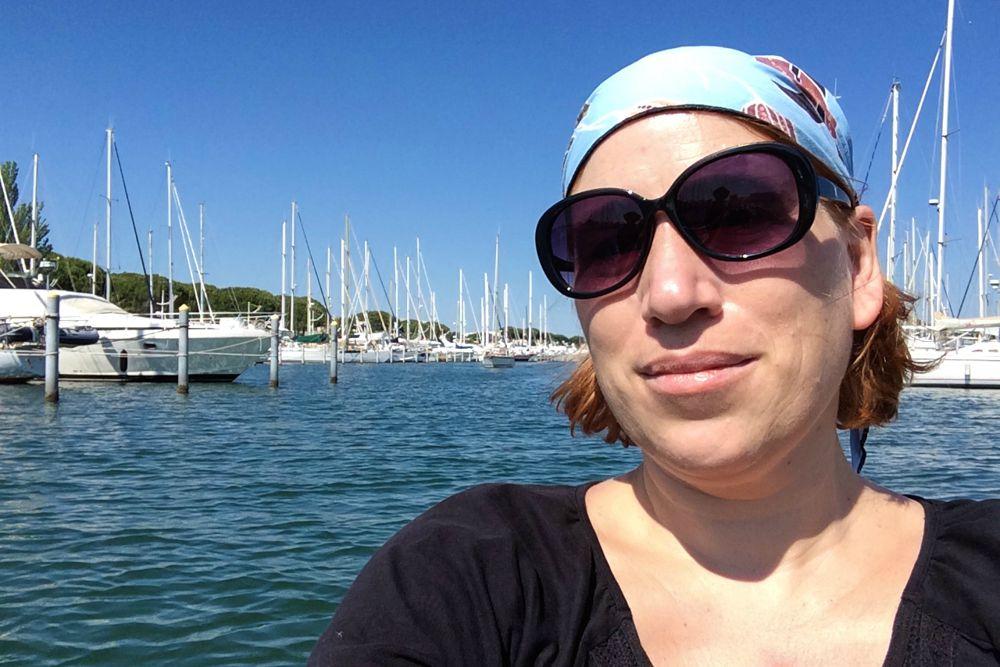 Reiseblogger in Frankreich