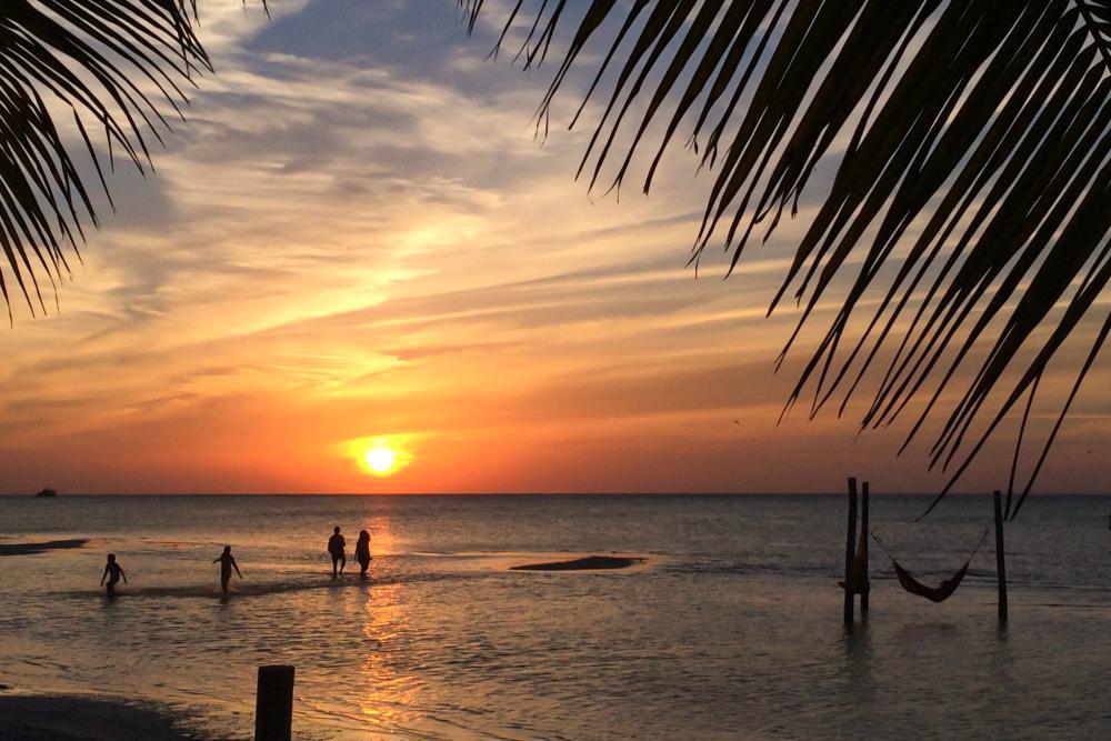 Sonnenuntergang - Yucatan