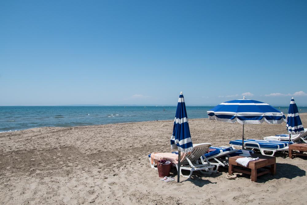 Strand von Le Grau-du-Roi Camargue
