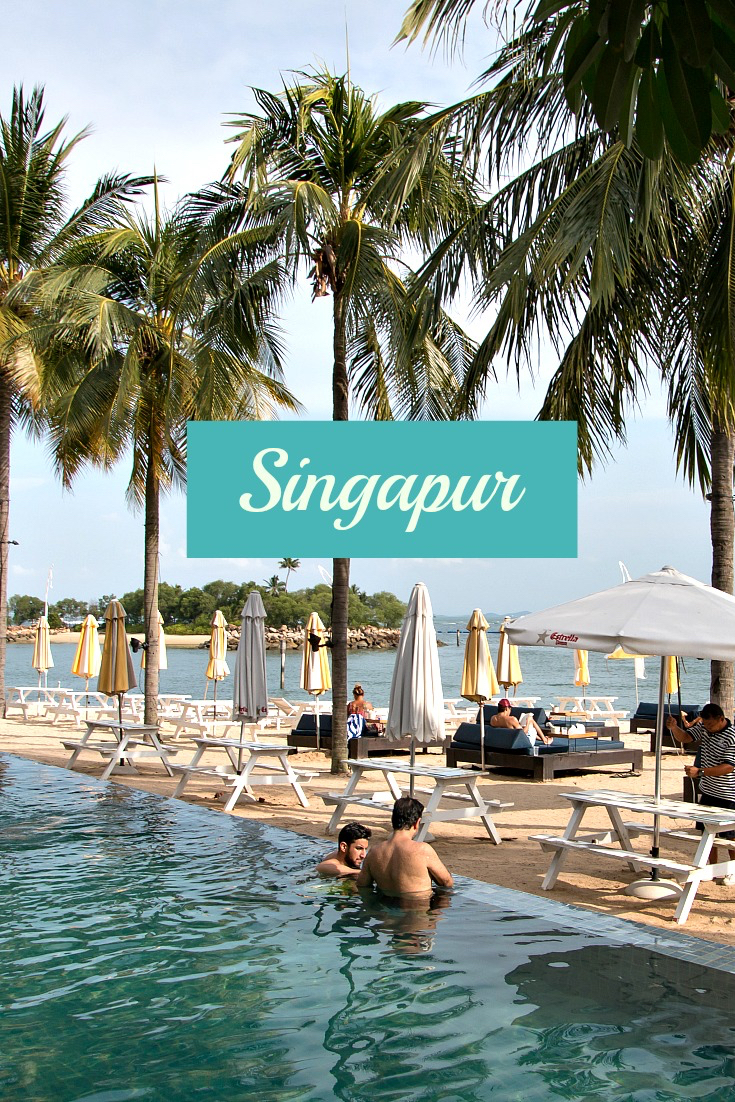 Tanjong Beach Club, Sentosa Island / Artikel zu Singapur: 10 Highlights