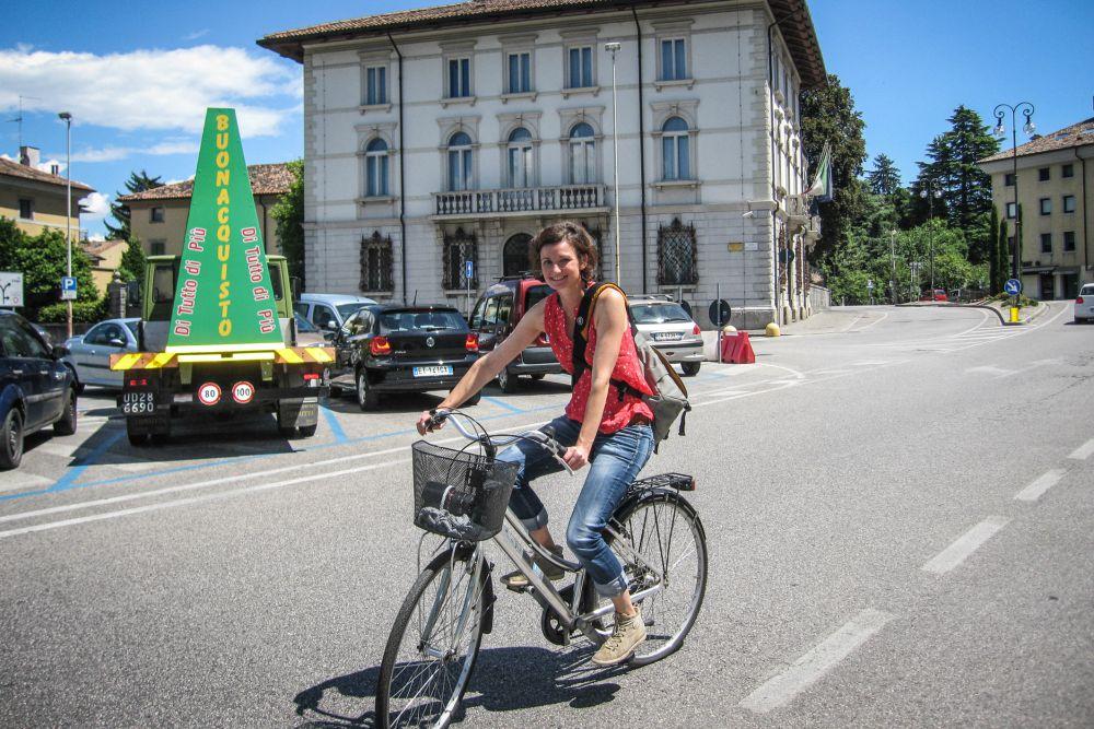 Udine mit dem Fahrrad