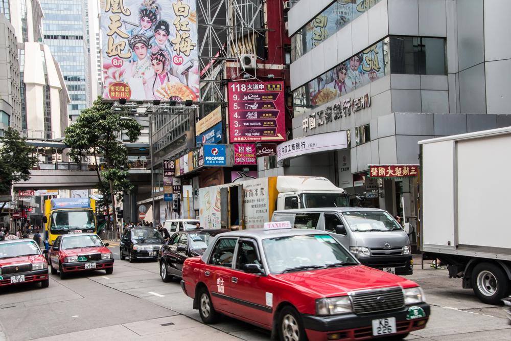 Verkehr in Hongkong
