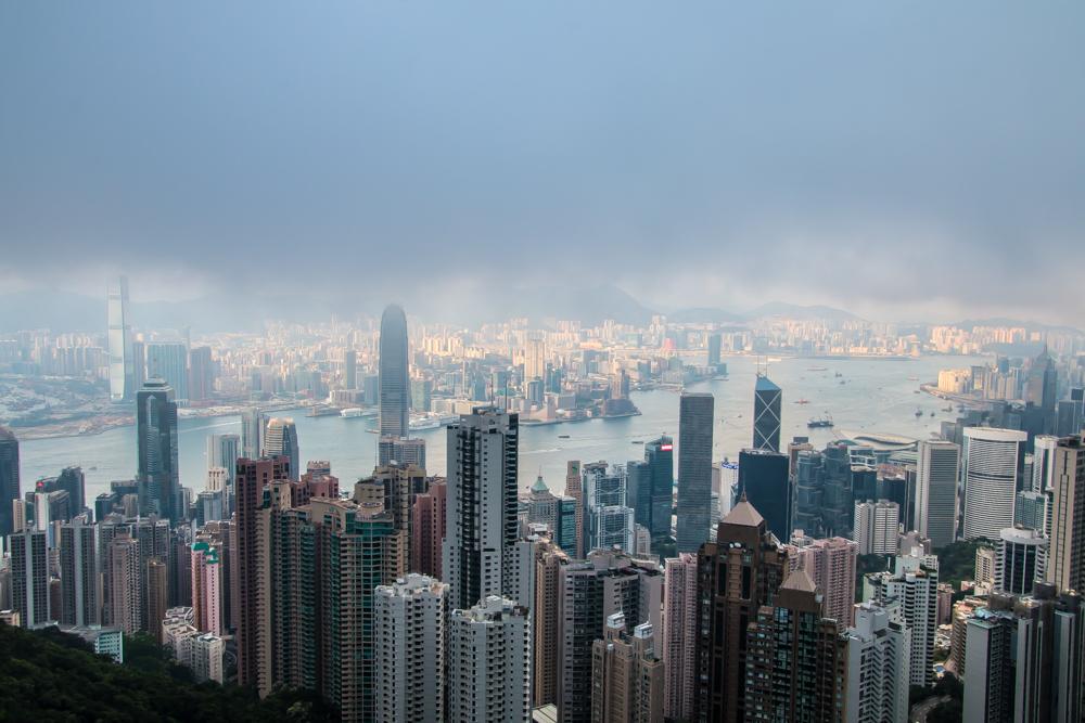 Victoria Peak Hongkong - Reiseblogs