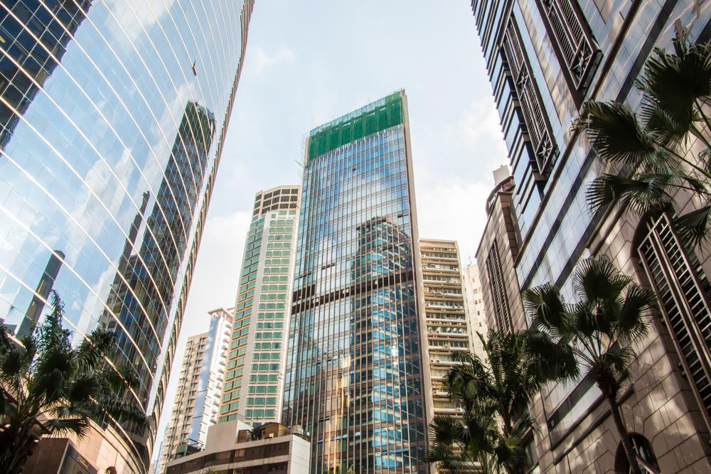 Wolkenkratzer in Hong Kong
