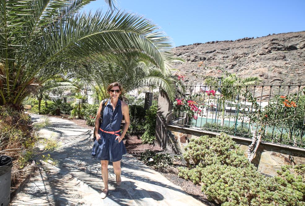 Reiseblogger Melanie auf Gran Canaria