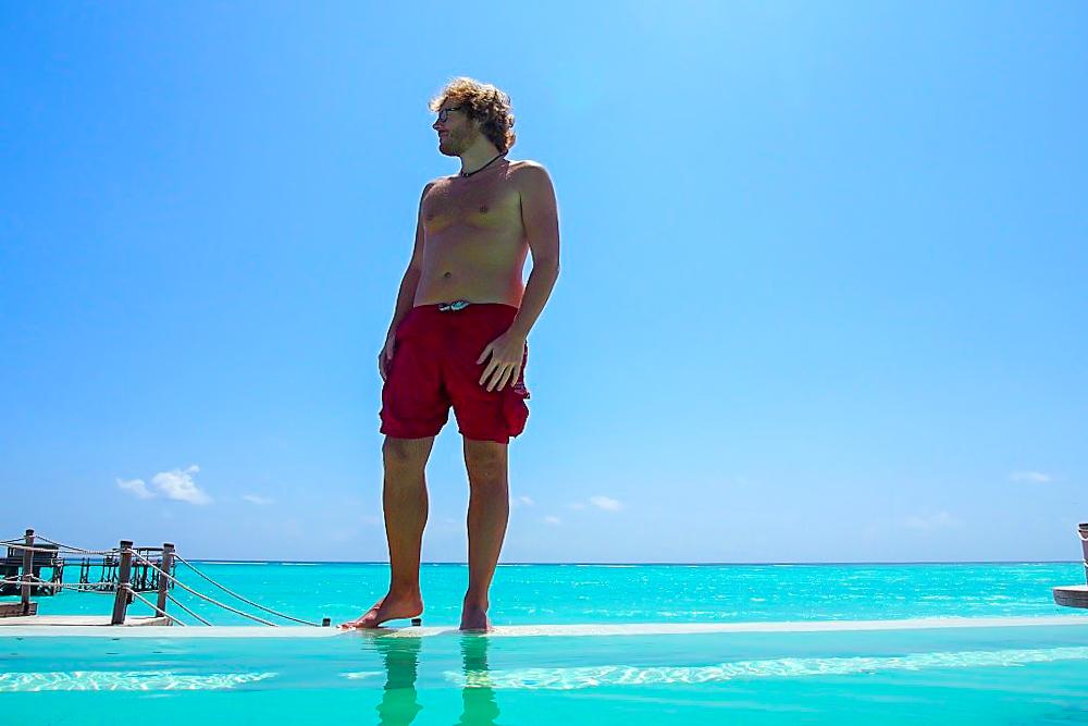 Reiseblogger Daniel auf Sansibar
