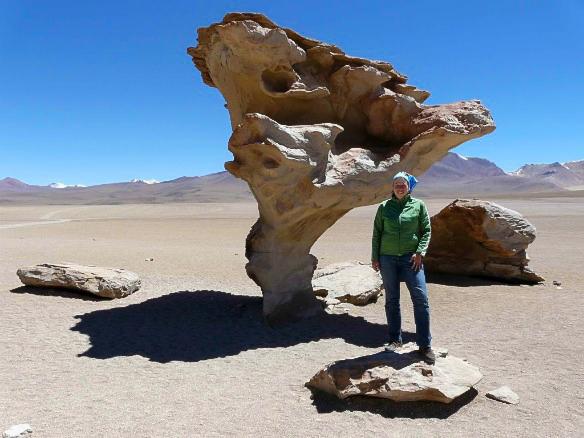 Reiseblogger Anja Beckmann in Bolivien