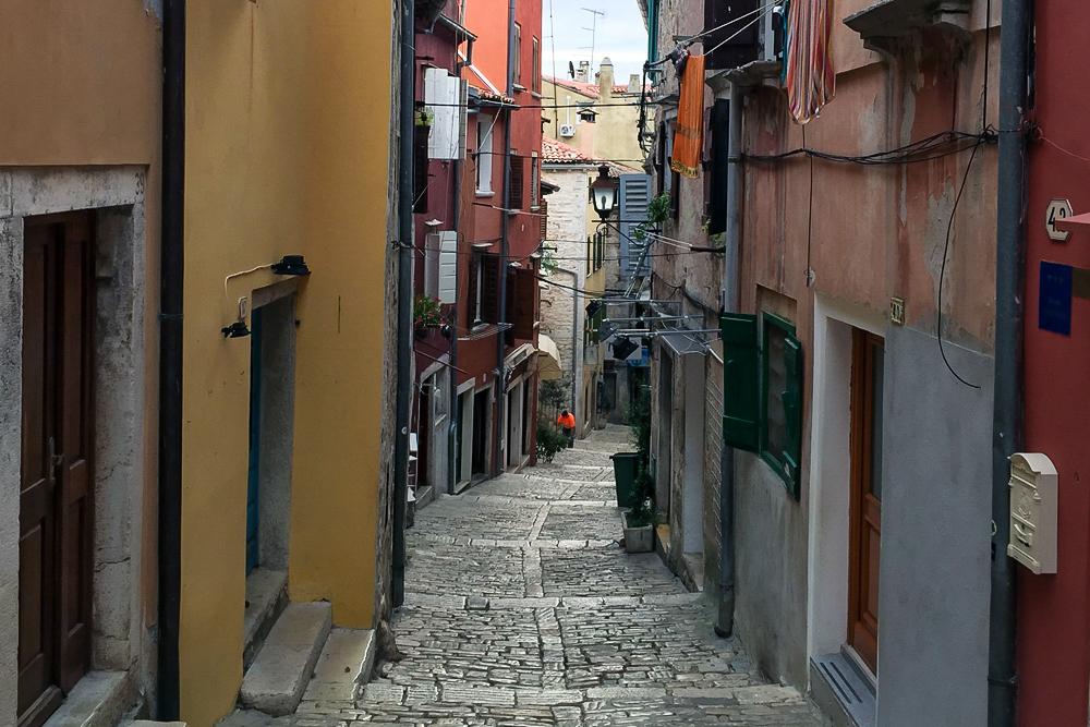 17 Kroatien Altstadt von Rovinj