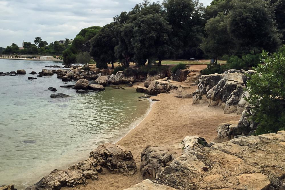 19 Bucht im Park šuma Zlatni