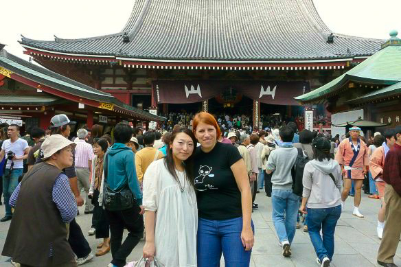 Reiseblogger Anja Beckmann in Japan
