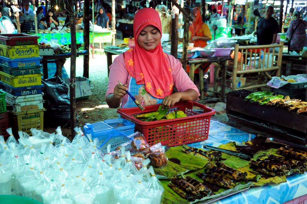 Markt Klong Haeng in Krabi