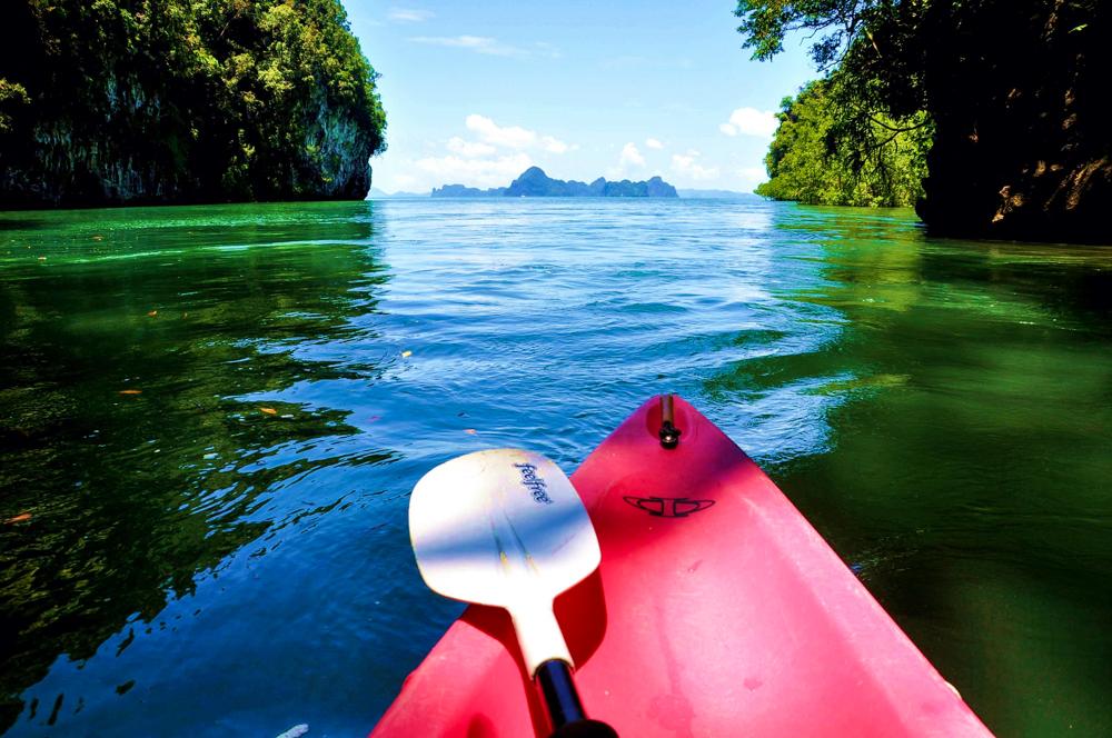 8_Krabi Thailand Sea Kayak Krabi Kajaktour Thalen Bay