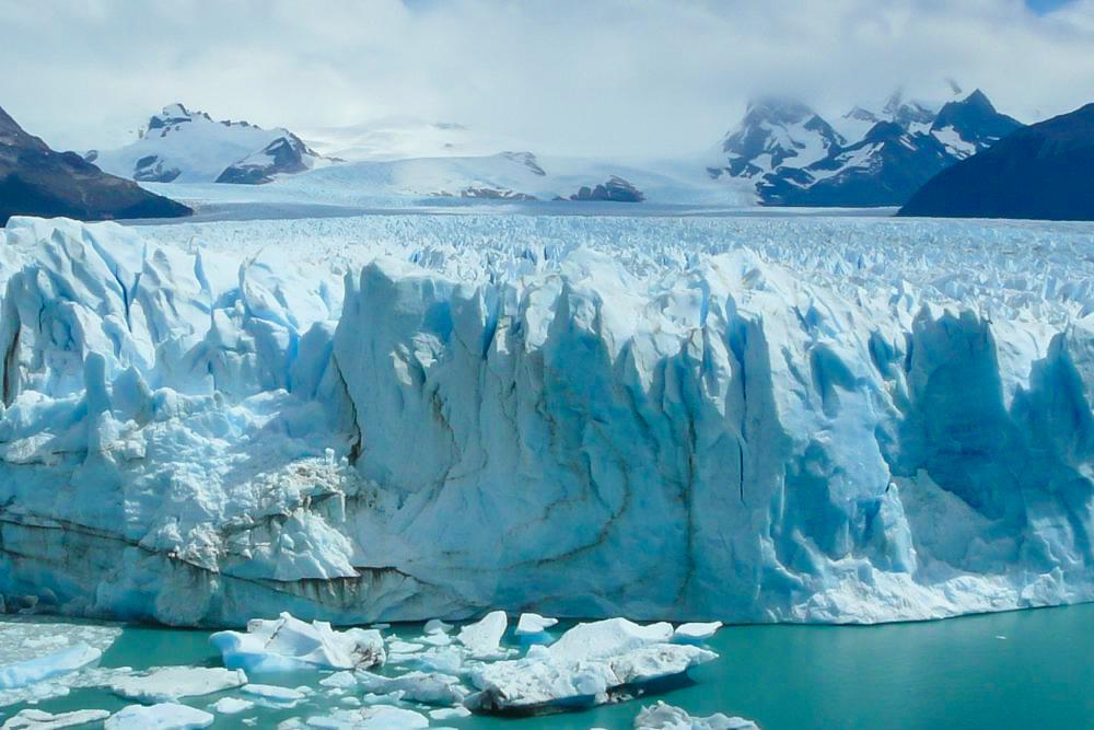 Weltreise Station: Perito Moreno Gletscher in Argentinien