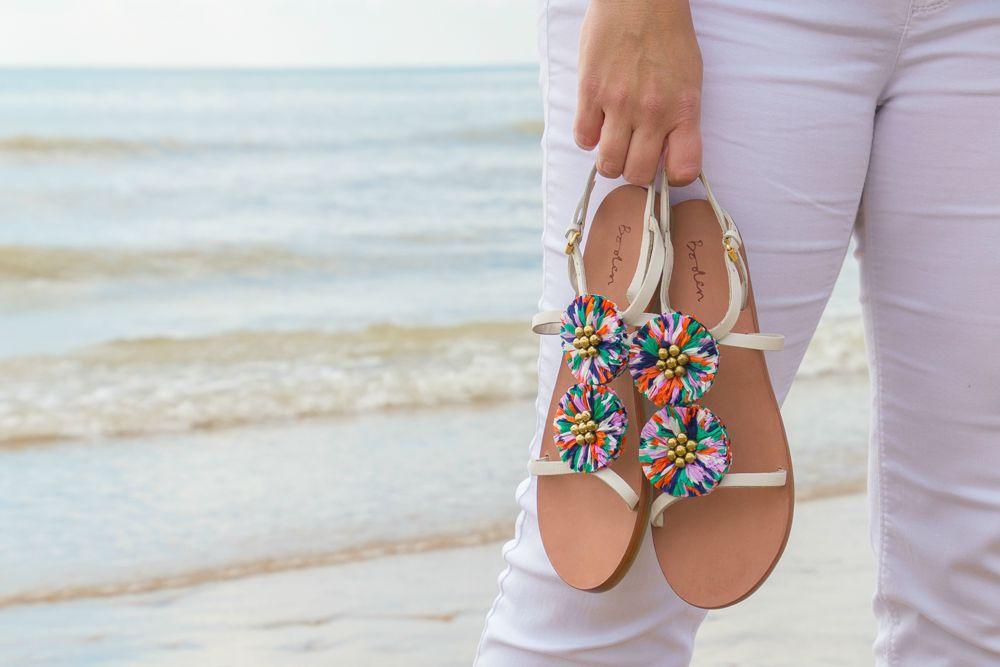 Urlaub Mode Boden Sandalen