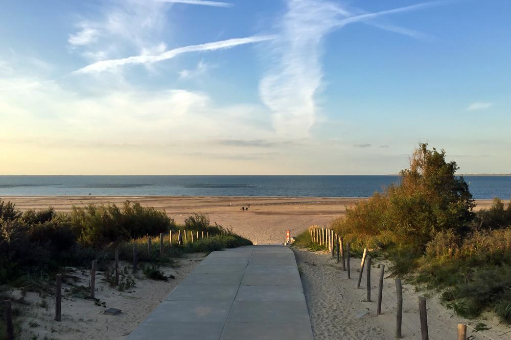 09 Weg zum Strand Renesse