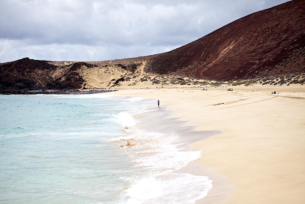 La Graciosa Playa de las Conchas 2