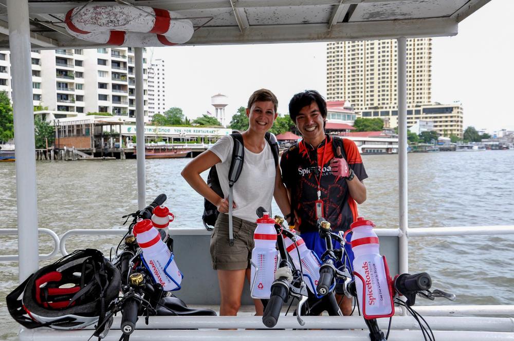 Ann-Kathrin in Bangkok