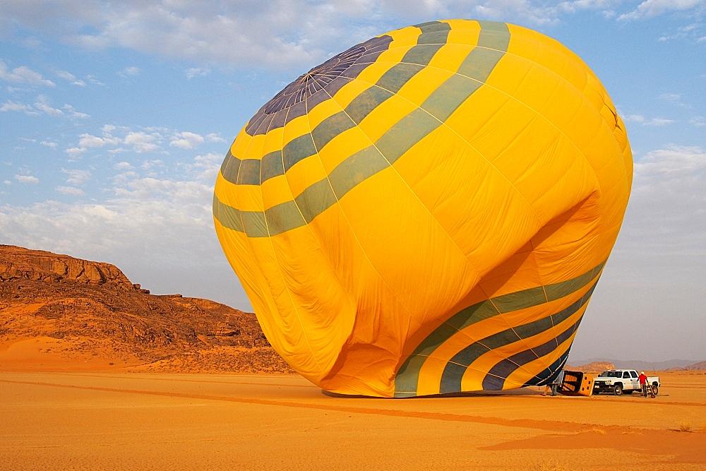 Ballonfahrt Jordanien