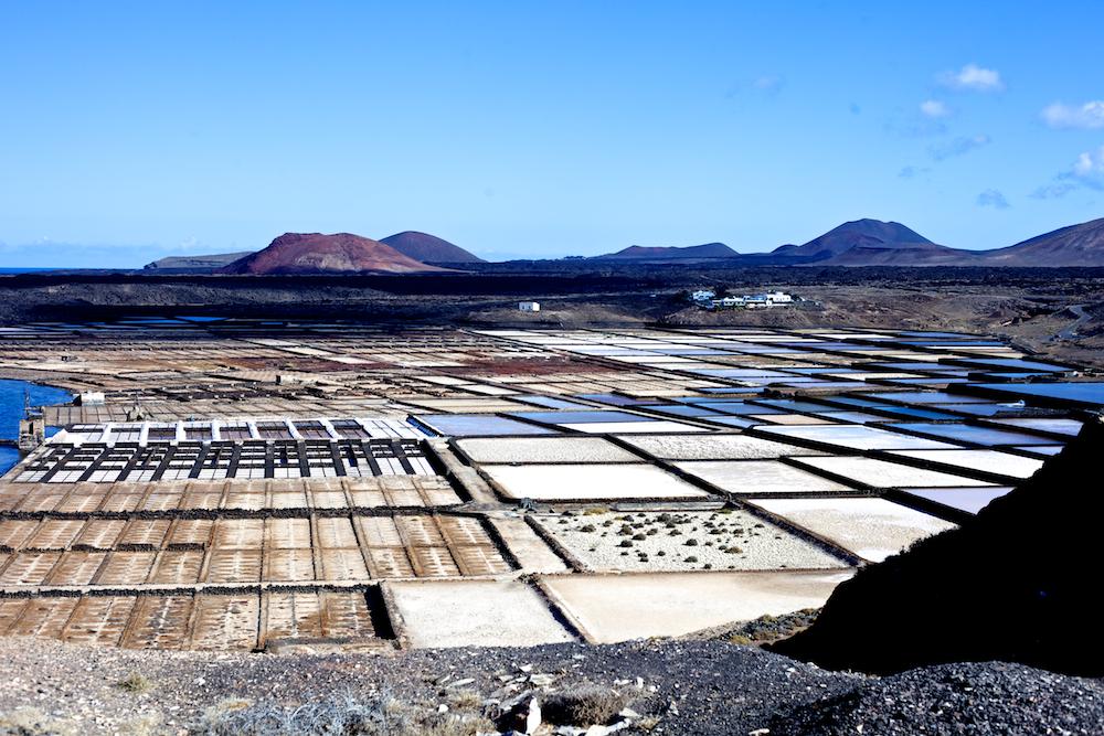 Lanzarote Salinas de Janubio Salzgewinnungsanlage