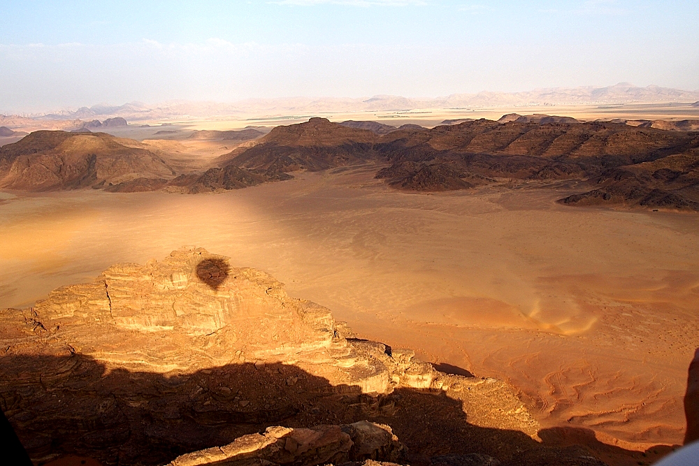 Ballonfahrt Wadi Rum Jordanien