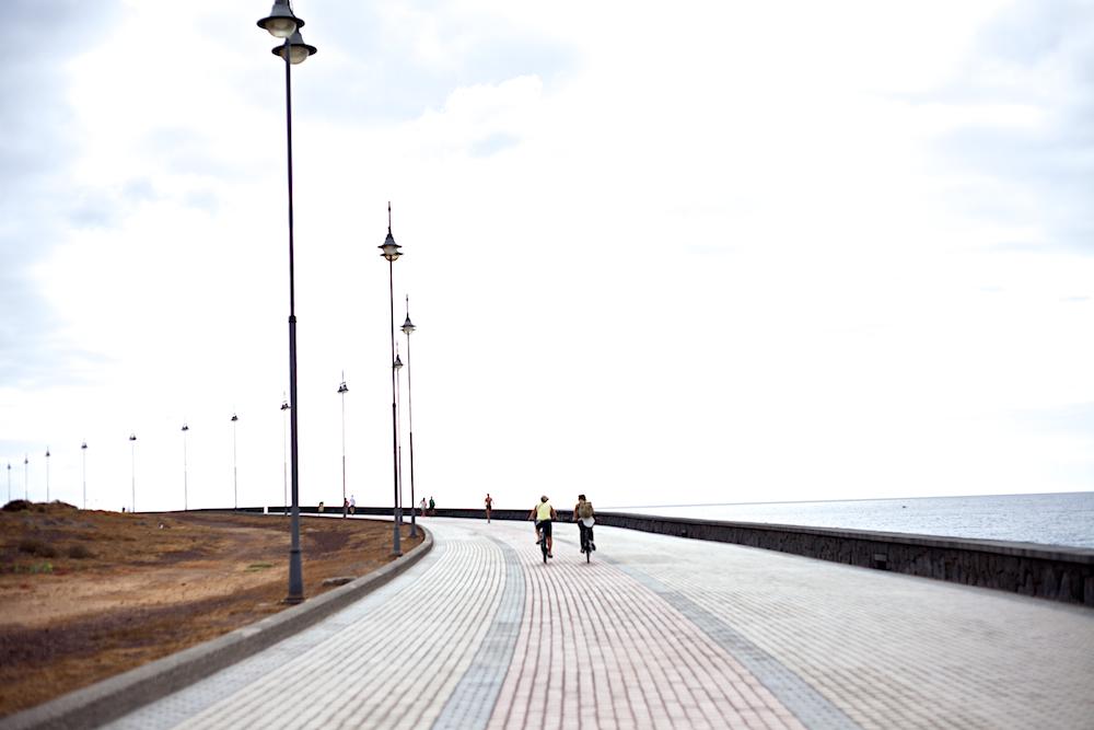 Lanzarote Promenade Radtour