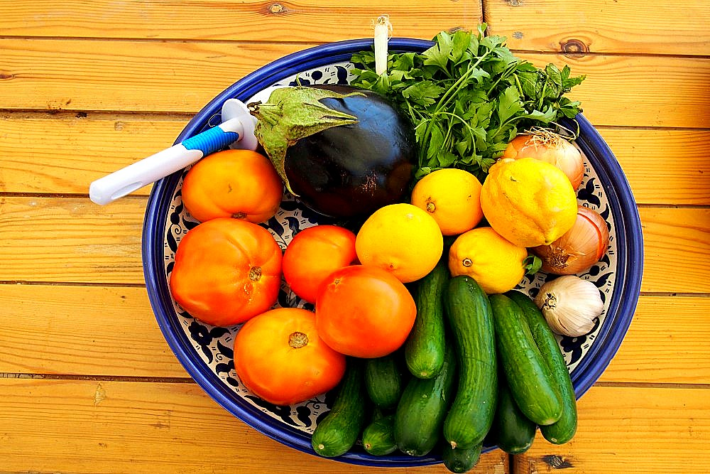 Jordanien - Gemüse