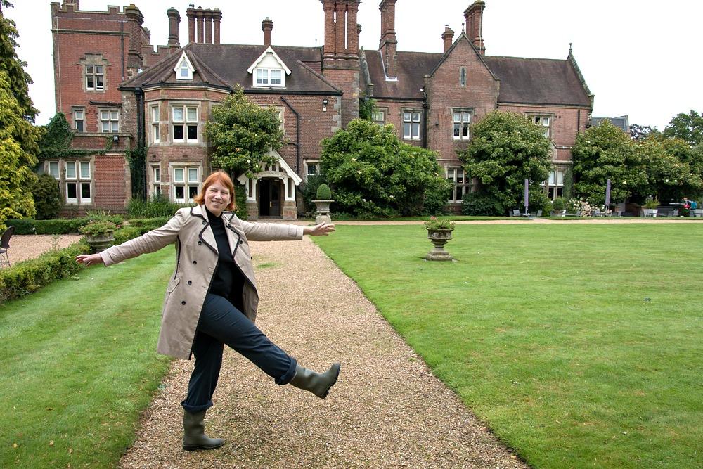 Anja Beckmann in England
