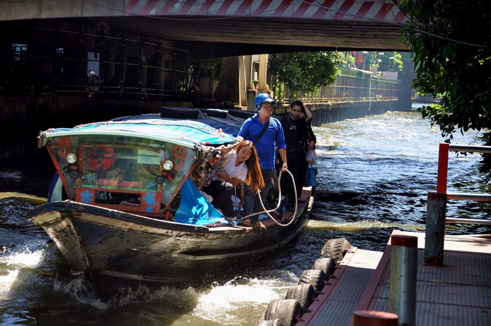 Bangkok Taxiboot Khlong