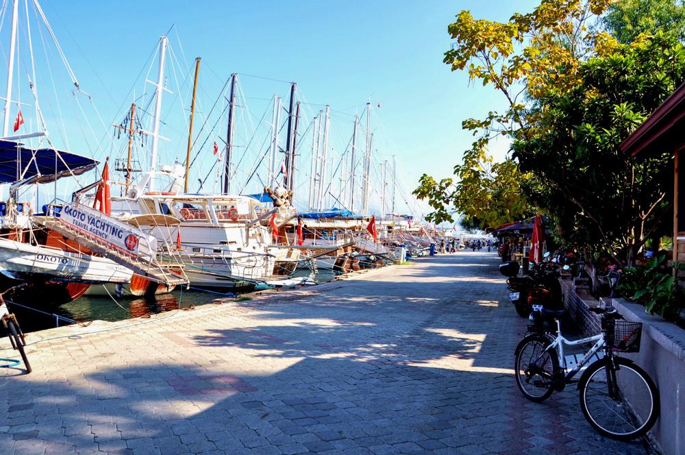 Hafenpromenade Fethiye