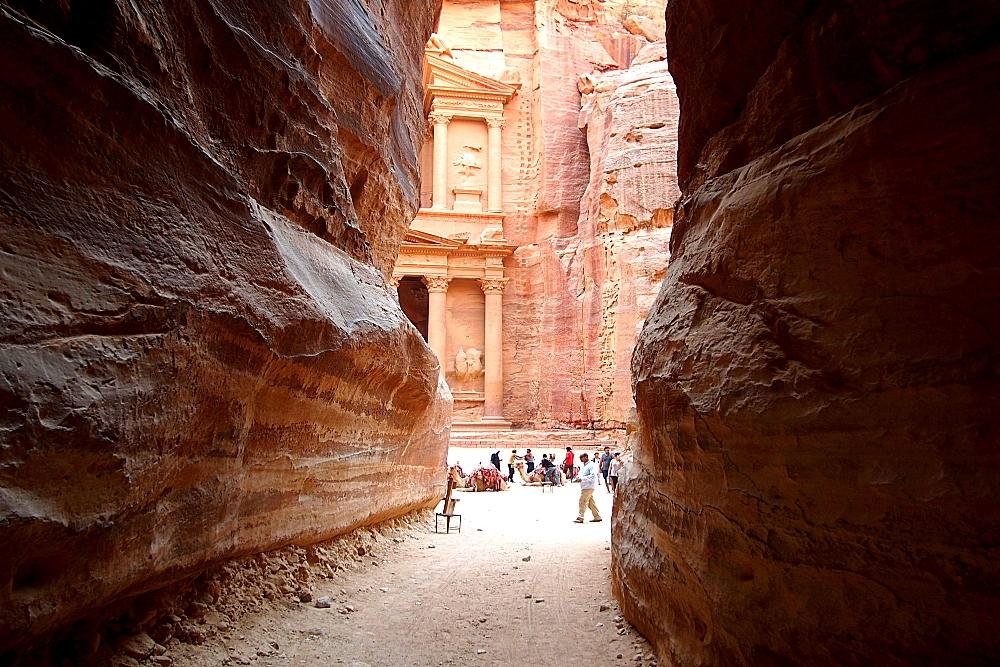 Schatzhaus in Petra Jordanien