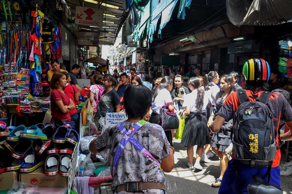 Sehenswürdigkeit Bangkok Radtour Chinatown